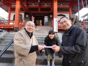 善國寺さまにて(写真:日蓮宗東京西部社会教化事業協会)