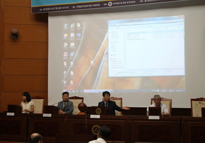 曹渓宗の環境委員会において脱原発をテーマにしたシンポジウムが開催され、日本からの参加者も登壇しました。