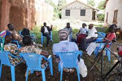 West Ugenya地区でのモニタリングの様子