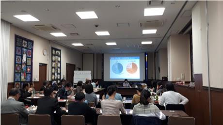 当日は、首都圏、名古屋、大阪、福岡に拠点をおく、難民支援NGO、教育機関、国際機関などの関係者約40名が参加しました