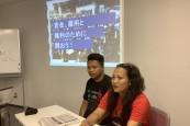 名古屋NGOセンター01(左がポールさん、右がジャミラさん)